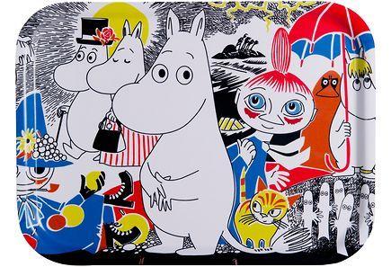 Muurla - Muurla Muumi Comic Cover tarjotin 27 x 20 cm