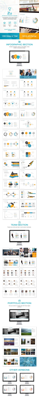 Zu Powerpoint Template #design #slides Download: http://graphicriver.net/item/zu-powerpoint/12231839?ref=ksioks