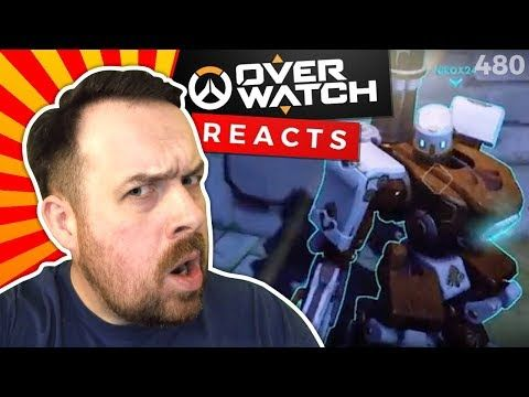 Reaction: Overwatch WTF Moments Ep.56