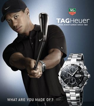 Tiger Woods and this watch.