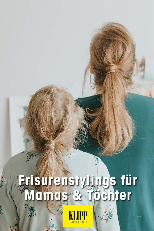 Frisurenstylings Fur Mamas Tochter In 2020 Frisuren Mutter Tochter Meine Tochter