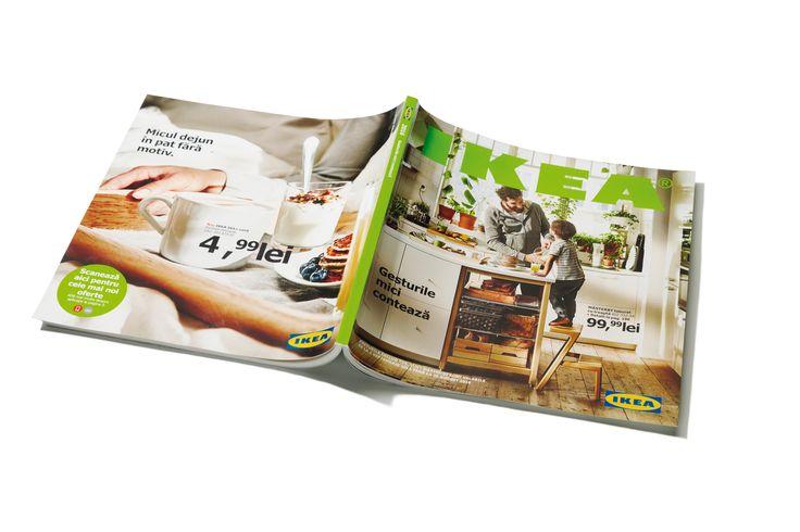 Astăzi lansăm #CatalogulIKEA2016 dedicat momentelor petrecute în bucătărie și în jurul mesei, împreună cu cei dragi. Dacă locuiești în București, Ploiești sau Pitești, atunci vei primi #CatalogulIKEA2016 gratuit la ușa ta, în perioada 17 august – 6 septembrie.