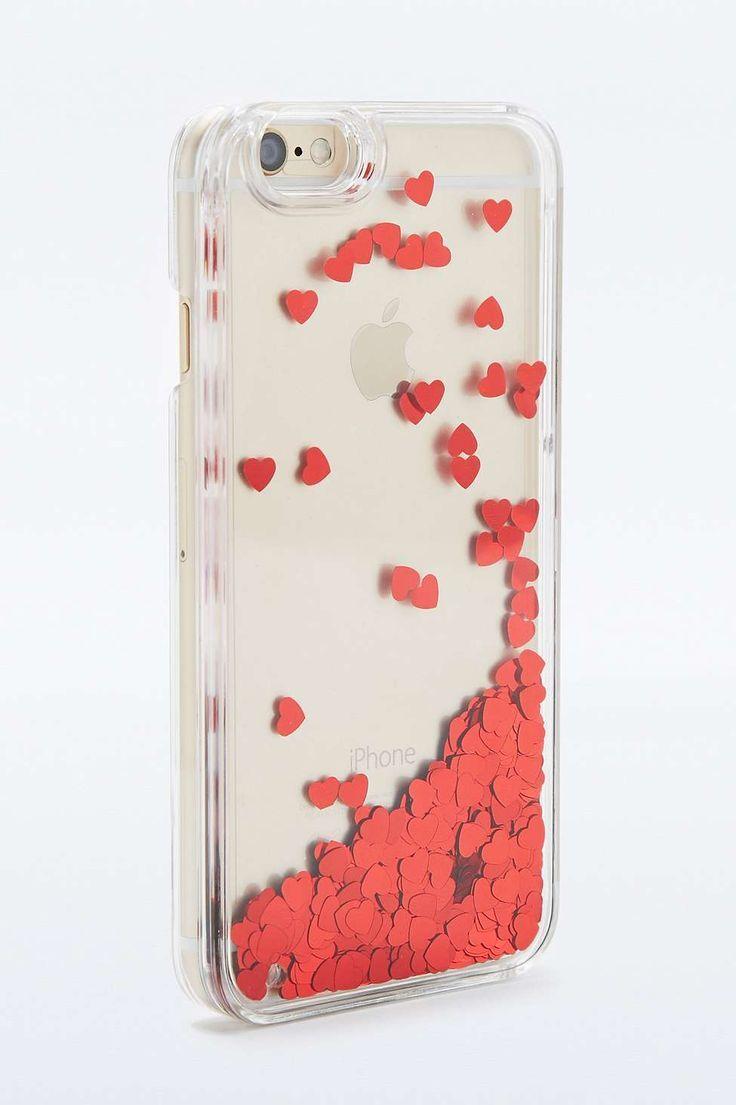 Capa para Iphone 6 com corações no site de compras do blog e revista de moda Simplesmoda.com
