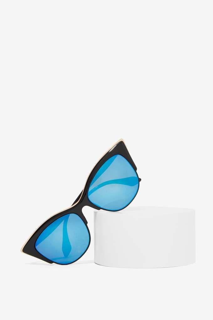City Kitty Cat-Eye Shades - Eyewear   Back In Stock   Newly Added   Back In Stock   Eyewear