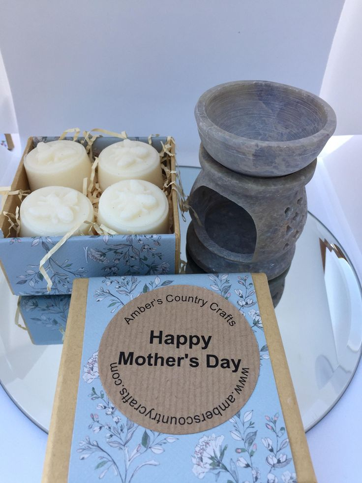 Excited to share the latest addition to my #etsy shop: Mother's Day Gift, Mother's Day Gift Set, Soy wax melts , Oil Burner http://etsy.me/2F3gAbr #candles #tart #mothersdaygiftse #giftset #waxmelts #soywaxmelts #oilburner #loveyoumum #soycandle