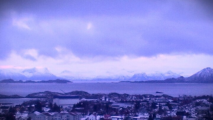 Morning glory in Svolvær, Lofoten- Norway.