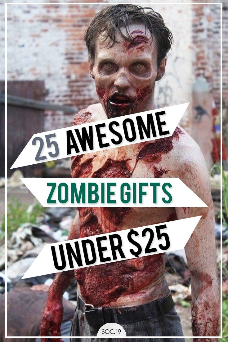 Best 25 zombie gifts ideas on pinterest zombie survival kits 25 awesome zombie gifts under 25 negle Image collections