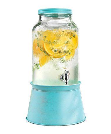Look what I found on #zulily! Blue 1.5-Gal Beverage Dispenser #zulilyfinds