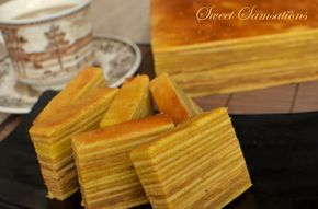 LAPIS LEGIT NationwideA spiced layered cake, made mainly of egg yolk, flour and margarine/butter.
