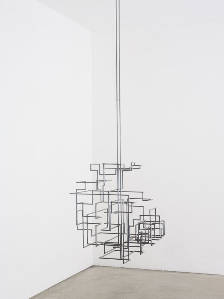 Antony Gormley: facts and systems at White Cube. 'Secure', 2012