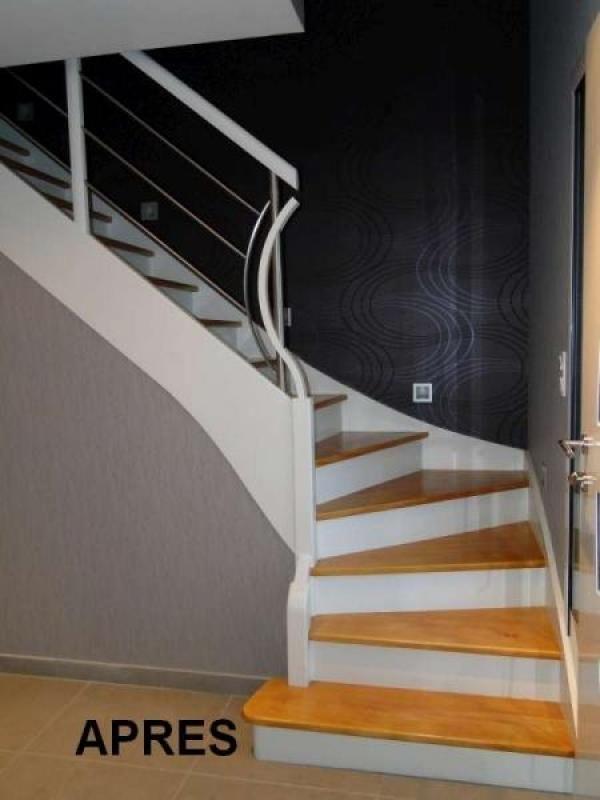 les 25 meilleures id es de la cat gorie rampe d 39 escalier sur pinterest rampes remodeler la. Black Bedroom Furniture Sets. Home Design Ideas