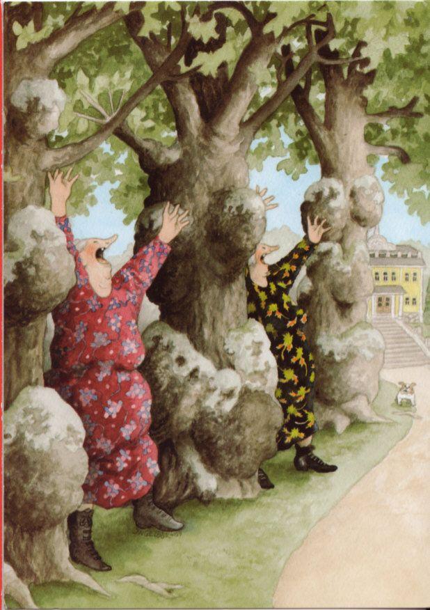 Nate - postcards & stamps: Lovely old ladies by Inge Look