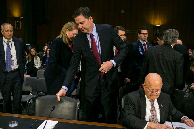 Comey Asks Justice Dept. to Reject Trump's Wiretapping Claim - The New York Times
