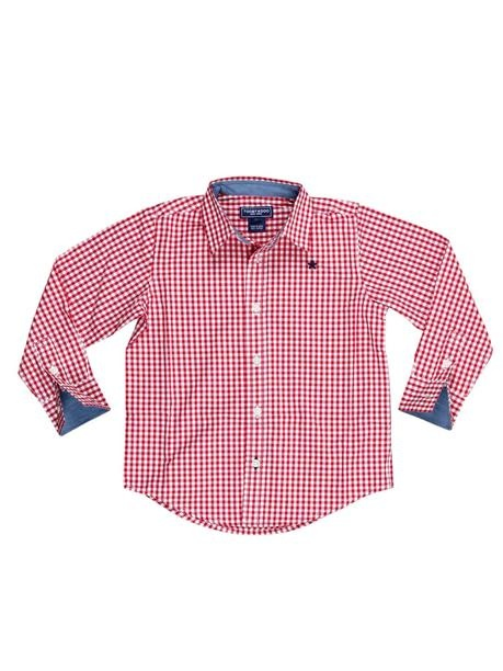 Checkers Button Down Shirt for Baby Boy.