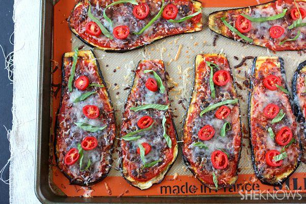 Eggplant Parmesan Slices