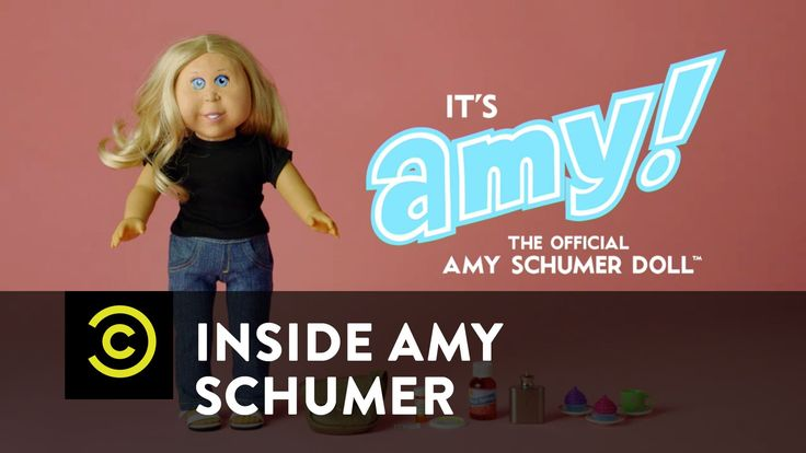 Inside Amy Schumer - Amy Schumer Doll. This is so wrong and so funny haha