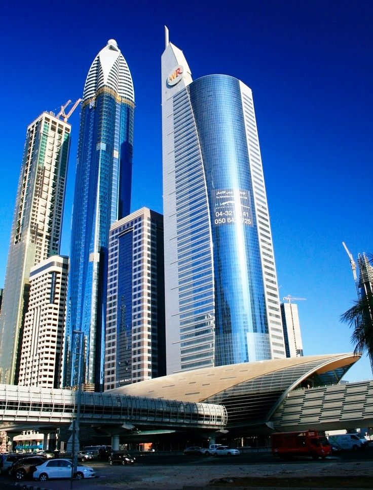 Rose Tower is one of the most beautifully built architectures of Dubai