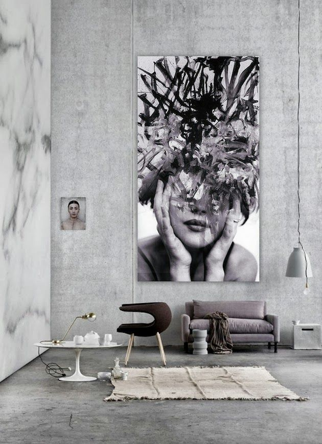 Images are a very hot topic in up to date home decor .. preferably giant enlargements that covers half the block - that would be visible from space satellites if we had larger windows.(WABI SABI Scandinavia - Design, Art and DIY.: Clever idea or rip-off?)