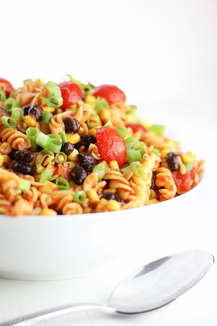 Taco Pasta Salad recipe made in just 15 minutes! Easy, healthy, all-natural ingredients. You'll have the perfect Easy Cold Taco Pasta Salad for the cookout!