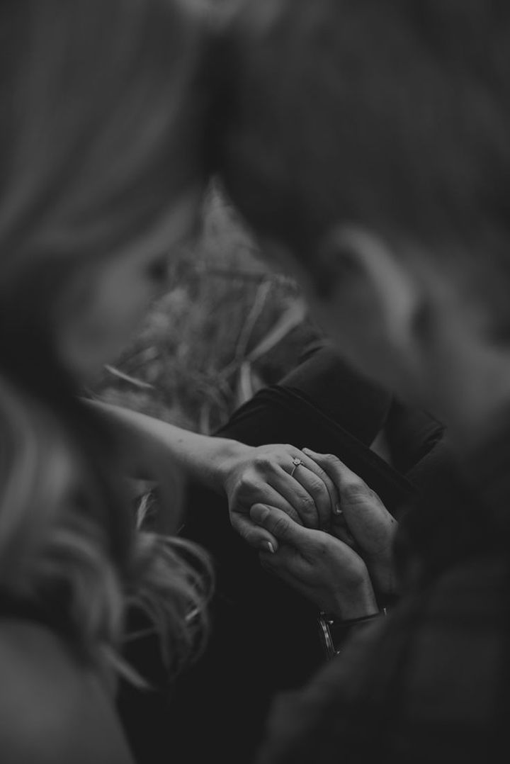 Favorite ring shot captured in black and white ~ we ❤ this! moncheribridals.com
