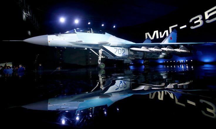 Clarín HD - AVIÓN DE GUERRA. Rusia presentó hoy su nuevo avión...
