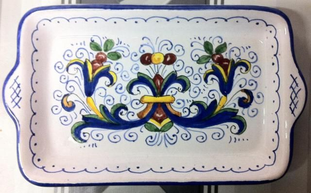Piccolo Vassoio Deruta | Ceramiche Rinascita