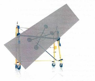Chariot à Ventouses FIRMIN N: FIRMIN N est un équipement nouveau qui facilite grandement tous vos travaux de pose. C'est aussi… #InfoWebBTP