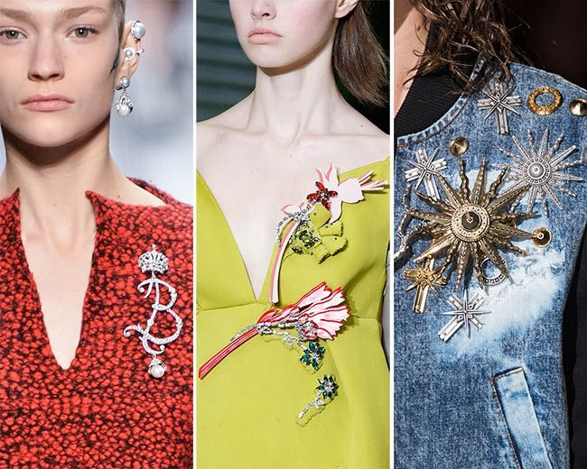 FALL 2016 Jewelry Trends: Brooches *Time to bring out your nana's brooches