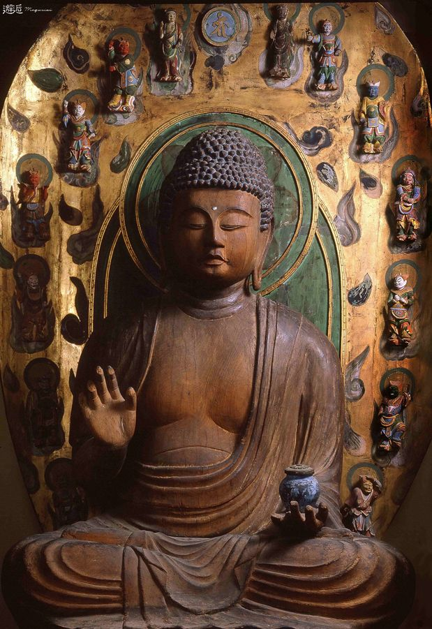Japanese Important Cultural Property, Statue of Yakushi Nyorai 木造薬師如来坐像(兵庫県篠山町 西光寺)