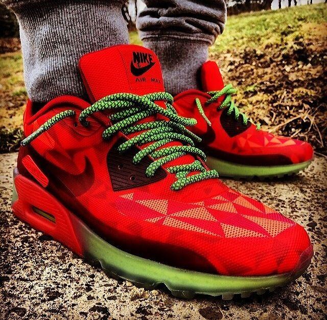 Nike Magenta Shoe Laces