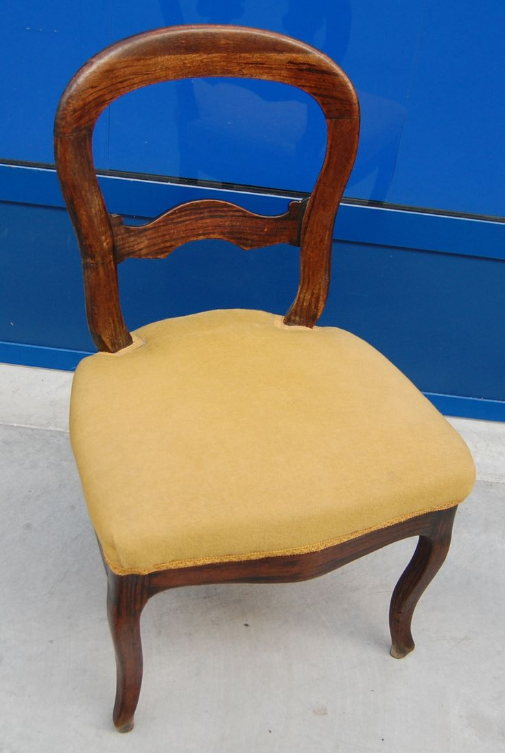 Piccola sedia Luigi Filippo in mogano primo '900
