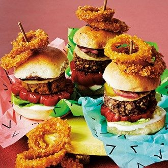 17 best images about vegan recipes on pinterest roasted for Classic sliders yard house