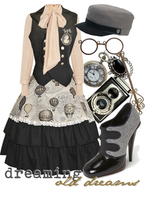 """""""dreaming old dreams"""" by princesschandler on Polyvore"""