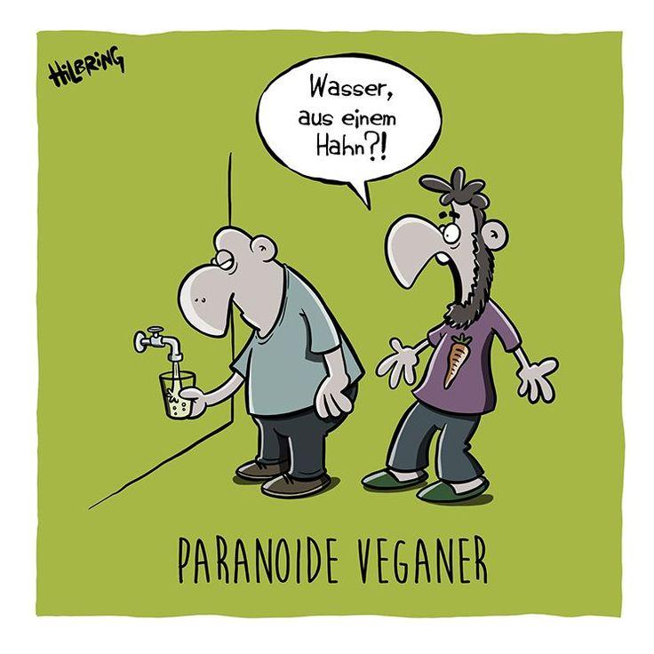 Wasserhahn KLEIN #veganhumor Wasserhahn KLEIN | Vegan