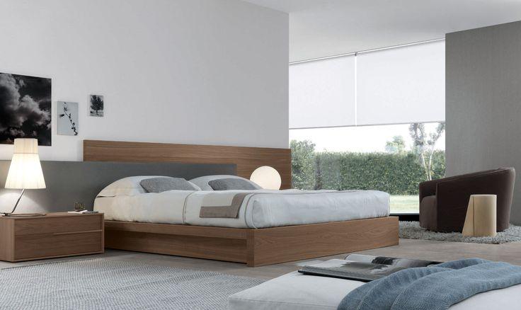 Double bed / contemporary / oak - MYLOVE by Massimiliano Mornati - JESSE