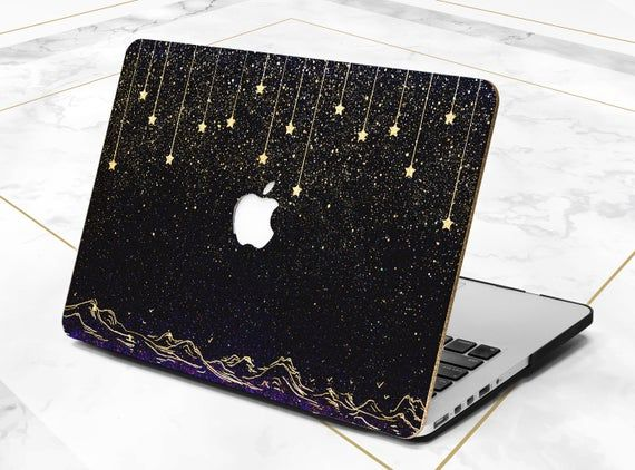 Macbook Case Stars Dark Night Pro 13 2019 Mountains Pro Retina Etsy In 2020 Macbook Case Macbook Air Cover Cases Macbook Air Case