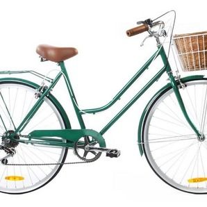 Vintage Green Vintage Ladies Bike 6 Speed - Special Edition .... what I so desperately need
