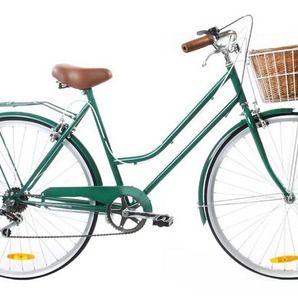 Vintage Green Vintage Ladies Bike 6 Speed - Special Edition