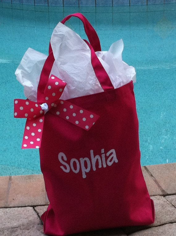 Personalized Tote Bags by PreppyPinkies on Etsy, $12.00