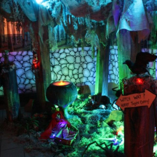My Grimm Fairytale Halloween Party. I Made The Trees From