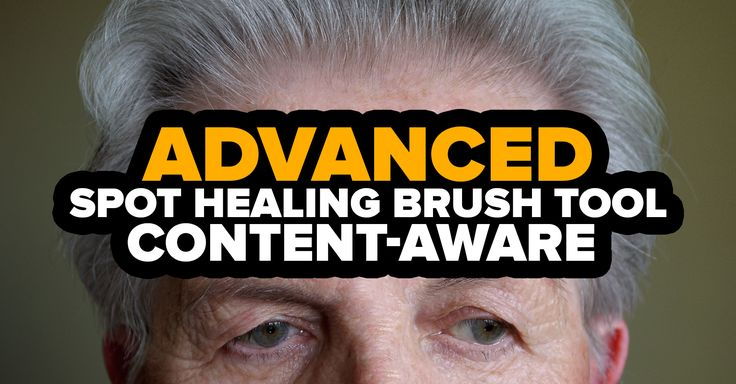 In this tutorial, you will learn to use Spot Healing Brush Tool with Content-Aware. I will also show you an advanced feature for portrait retouching.
