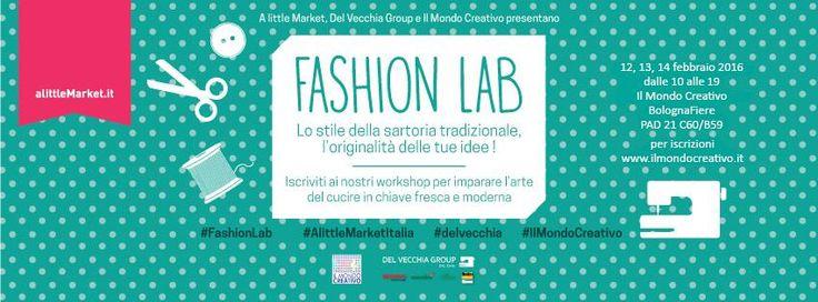 """Ecco i primi corsi! """"Lo stile della sartoria tradizionale, l'originalità delle tue idee"""": il Fashion Lab vi aspetta al padiglione 21, stand C60-B59!  #fashionlab #cucito #bernina #ilmondocreativo"""