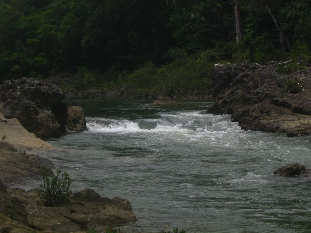Machaquila River, Poptun, Guatemala