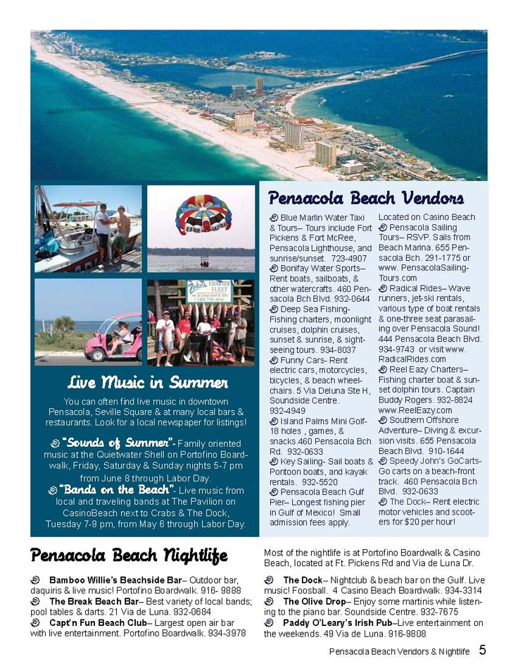 Living or Vacationing in Pensacola Beach? Then you will love this Pensacola Beach fun guide!