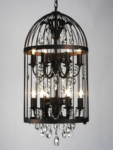 Birdcage chandelier for 1500 i 39 ll make my own for for Build your own chandelier