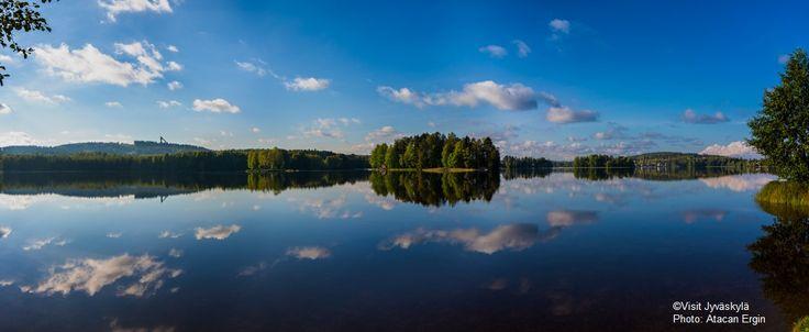 Lake Jyväsjärvi. ©Visit Jyväskylä Photo: Atacan Ergin.