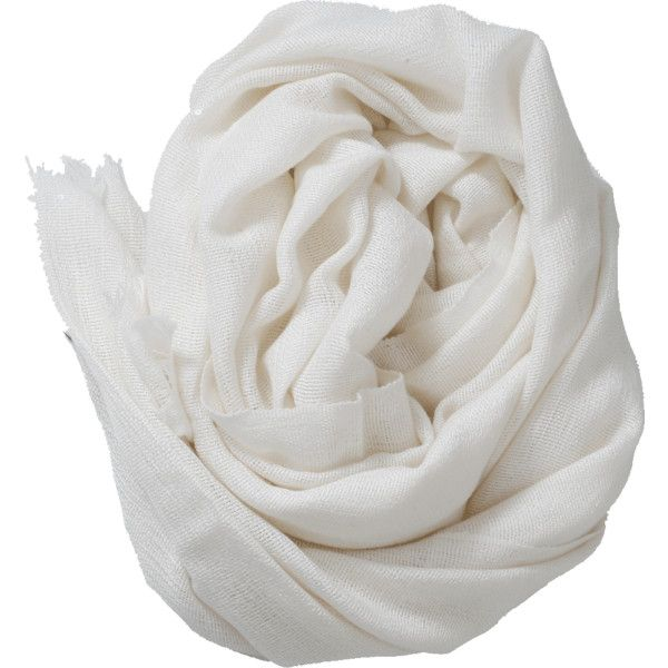 Brunello Cucinelli Pailette Scarf ($1,575) ❤ liked on Polyvore featuring accessories, scarves, cashmere scarves, brunello cucinelli, white shawl, cashmere shawl and brunello cucinelli scarves