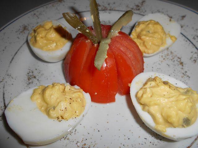 Zaxapn kai alati: Γεμιστά αυγά με μουστάρδα και μαγιονέζα