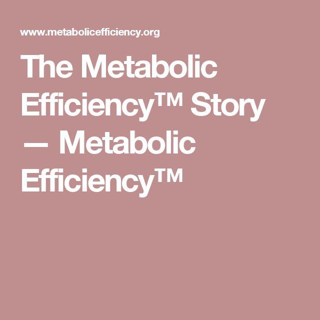 The Metabolic Efficiency™ Story — Metabolic Efficiency™