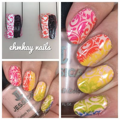 ehmkay nails: Stamping with Jessica Cosmetics Prime Collection